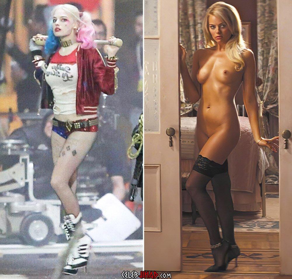 Robbie scene margot nude Margot Robbie